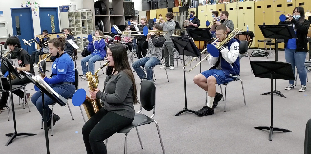 Carson HS Jazz Band
