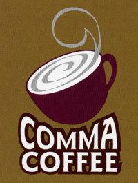 Comma Coffee logo