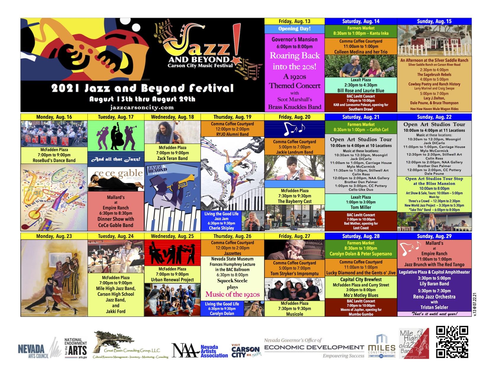 Jazz & Beyond 2021 Events
