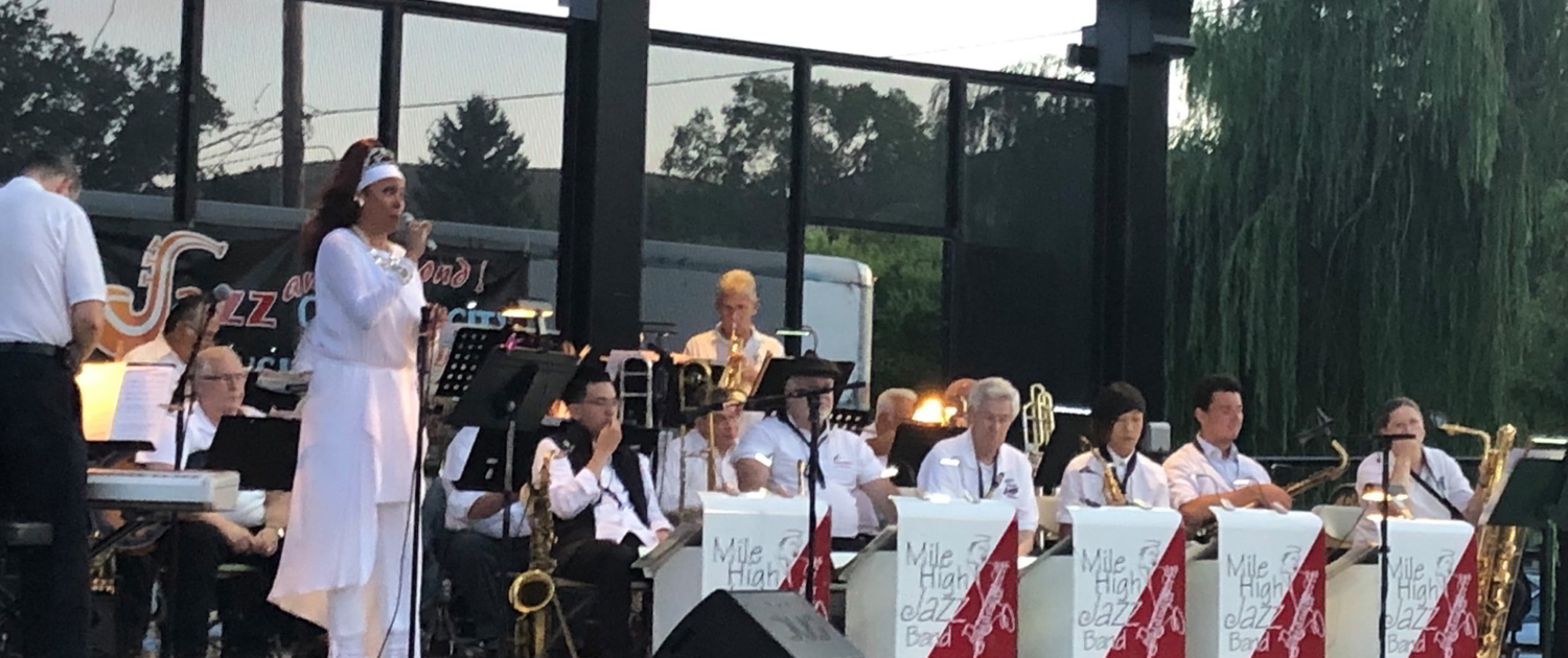 Mile High Jazz Band with Jakki Ford