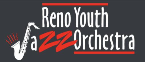 Reno Youth Jazz Orchestra logo