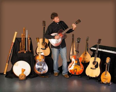 Colin Ross, multiinstrumentalist